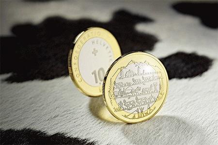 10 Fr Sonder Münzen
